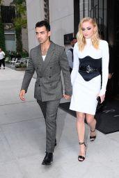 Sophie Turner and Joe Jonas - Walking in SoHo on Their Way to the VMAs 08/26/2019