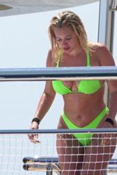Stassie Karanikolaou in a Lime Green Bikini 08/08/2019