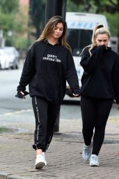 Steph Lamb and Elle Brown Shops in Hale in Cheshire 07/31/2019