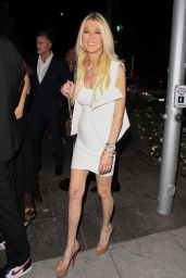 Tara Reid Night Out Style, August 2019