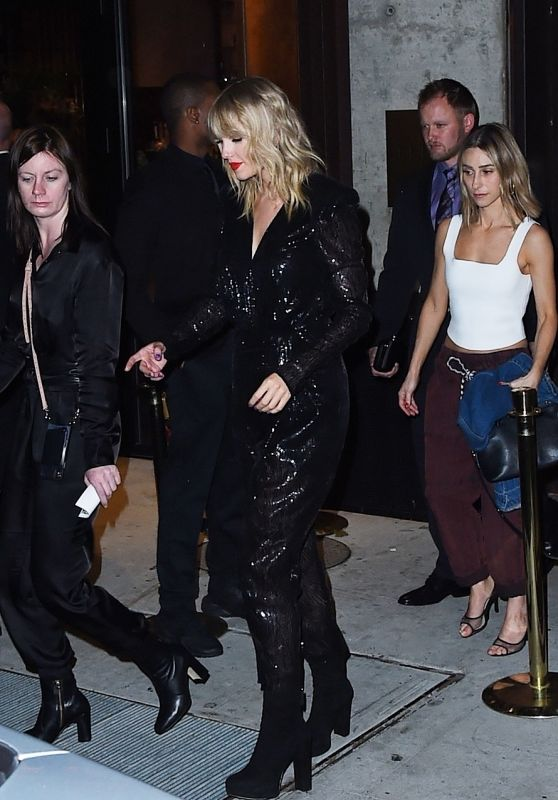 Taylor Swift - Leaving the 2019 MTV VMA After Party
