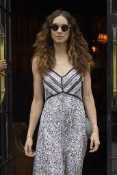 Troian Bellisario - Leaving the Bowery Hotel in NYC 08/13/2019