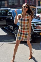 Troian Bellisario - Outside the Bowery Hotel in NYC 08/12/2019