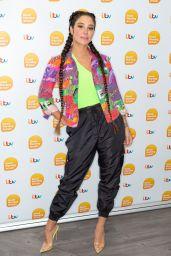 Tulisa Contostavlos - Good Morning Britain TV Show in London 08/16/2019