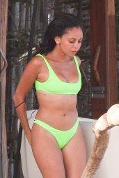 Vanessa Morgan in a Bikini on the Beach in Tulum 08/28/2019