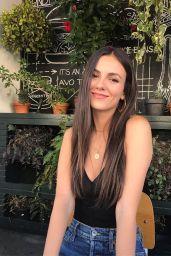 Victoria Justice - Social Media 08/21/2019