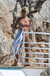 Victoria Silvstedt in a Bikini 08/15/2019