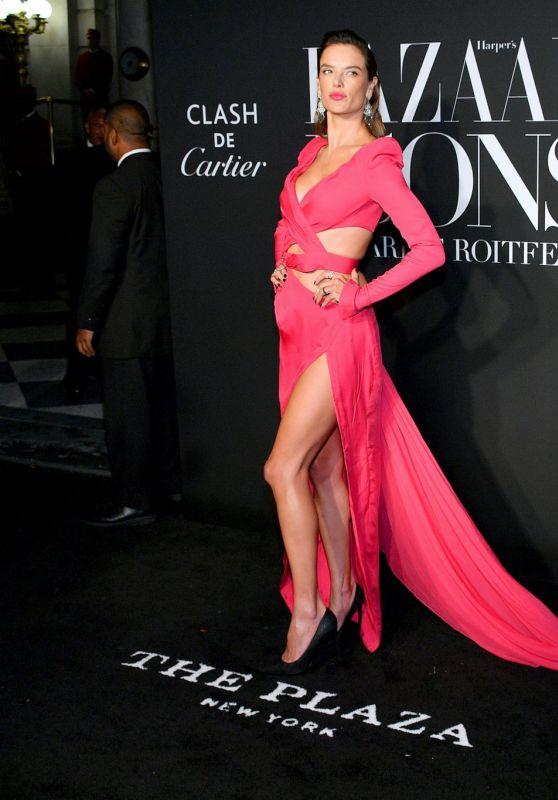 Alessandra Ambrosio – 2019 Harper's Bazaar ICONS Party in NY
