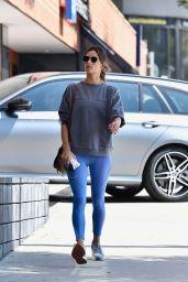 Alessandra Ambrosio - Arrives at Yoga Class in LA 09/18/2019
