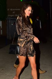 Alessandra Ambrosio Night Out Style 09/02/2019
