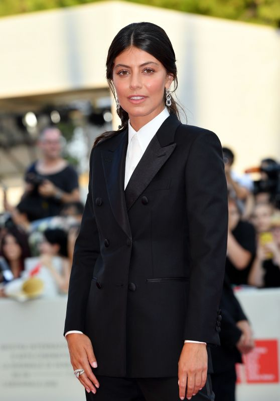 """Alessandra Mastronardi – """"An Officer and a Spy"""" Premiere at the 76th Venice Film Festival"""