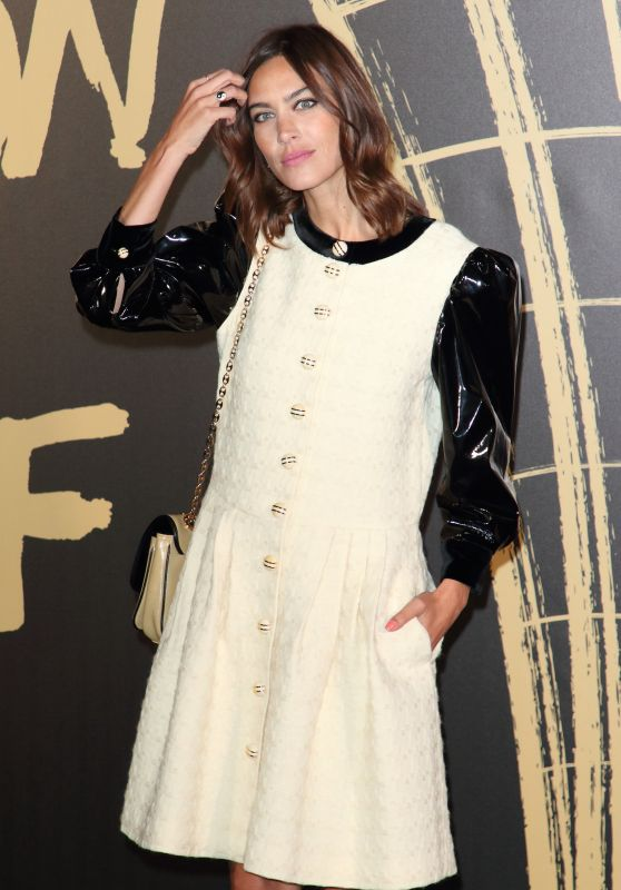 Alexa Chung – Fashion For Relief at LFW 09/14/2019