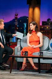 Alexandra Daddario - The Late Late Show With James Corden 09/11/2019