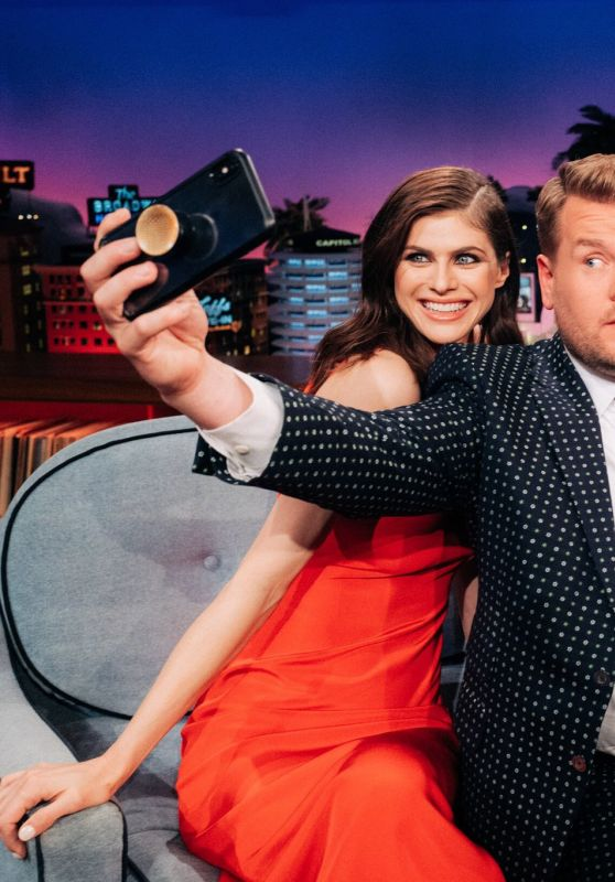 Alexandra Daddario - The Late Late Show With James Corden 09/11/2019