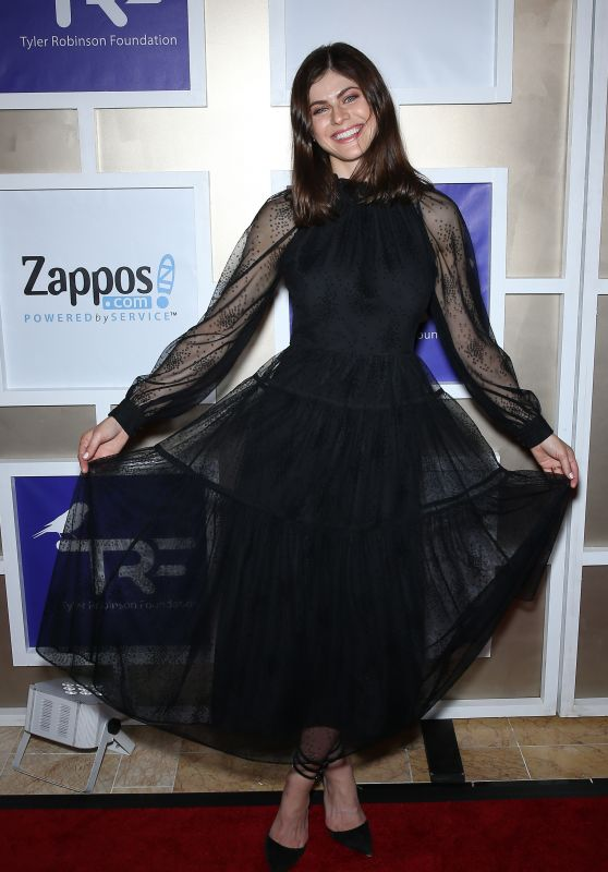 Alexandra Daddario - The Tyler Robinson Foundation Gala in Las Vegas 09/07/2019