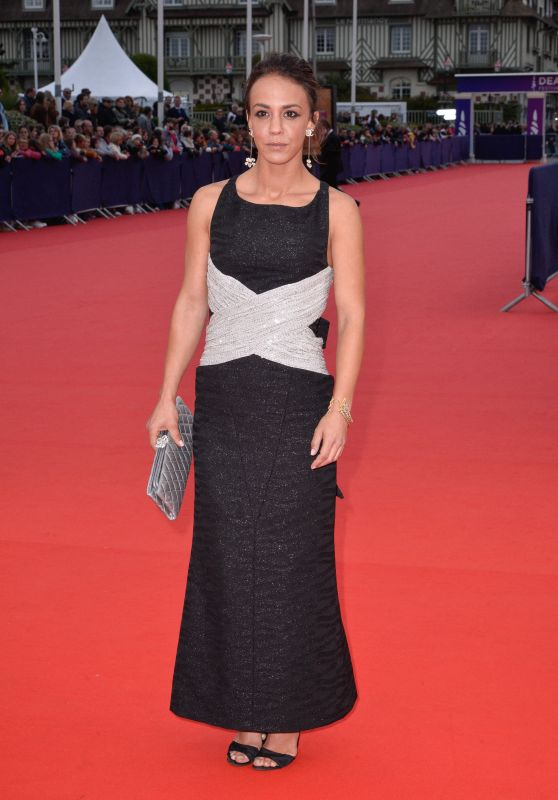 "Alice Belaidi - ""Music Of My Life"" Premiere atthe 45th Deauville American Film Festival"