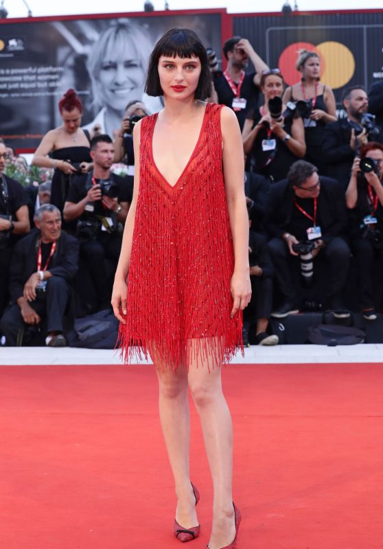 "Alice Pagani on Red Carpet – ""Joker"" Screening at the 76th Venice Film Festival"