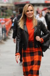 Amanda Holden - Leaving The Heart Radio Studios in London 09/27/2019