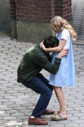 """Amanda Seyfried - """"A Mouthful of Air"""" Set in NYC 09/24/2019"""