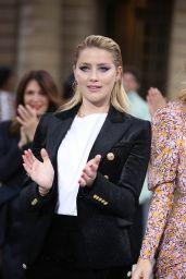 Amber Heard – Le Defile L'Oreal Paris Show in Paris 09/28/2019