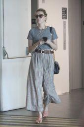Amber Heard Makeup-Free - Los Angeles 09/04/2019