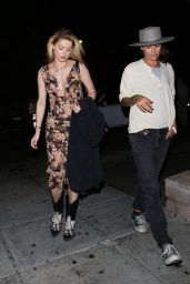 Amber Heard Night Out Style - Beverly Hills 09/04/2019