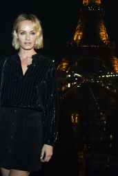 Amber Valletta – Saint Laurent Show at Paris Fashion Week 09/24/2019