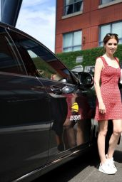 Anna Kendrick and Brittany Snow - Mercedes-Benz VIP Suite at the US Open 09/01/2019