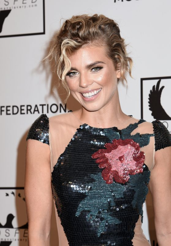 AnnaLynne McCord - Mosaic Federation Gala Against Human Slavery in NYC 09/10/2019