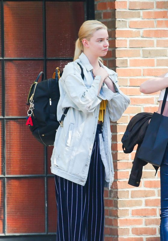 Anya Taylor-Joy - Out for a Stroll in NY 09/04/2019
