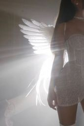 """Ariana Grande, Miley Cyrus and Lana Del Rey - """"Don't Call Me Angel"""" Promo Material"""