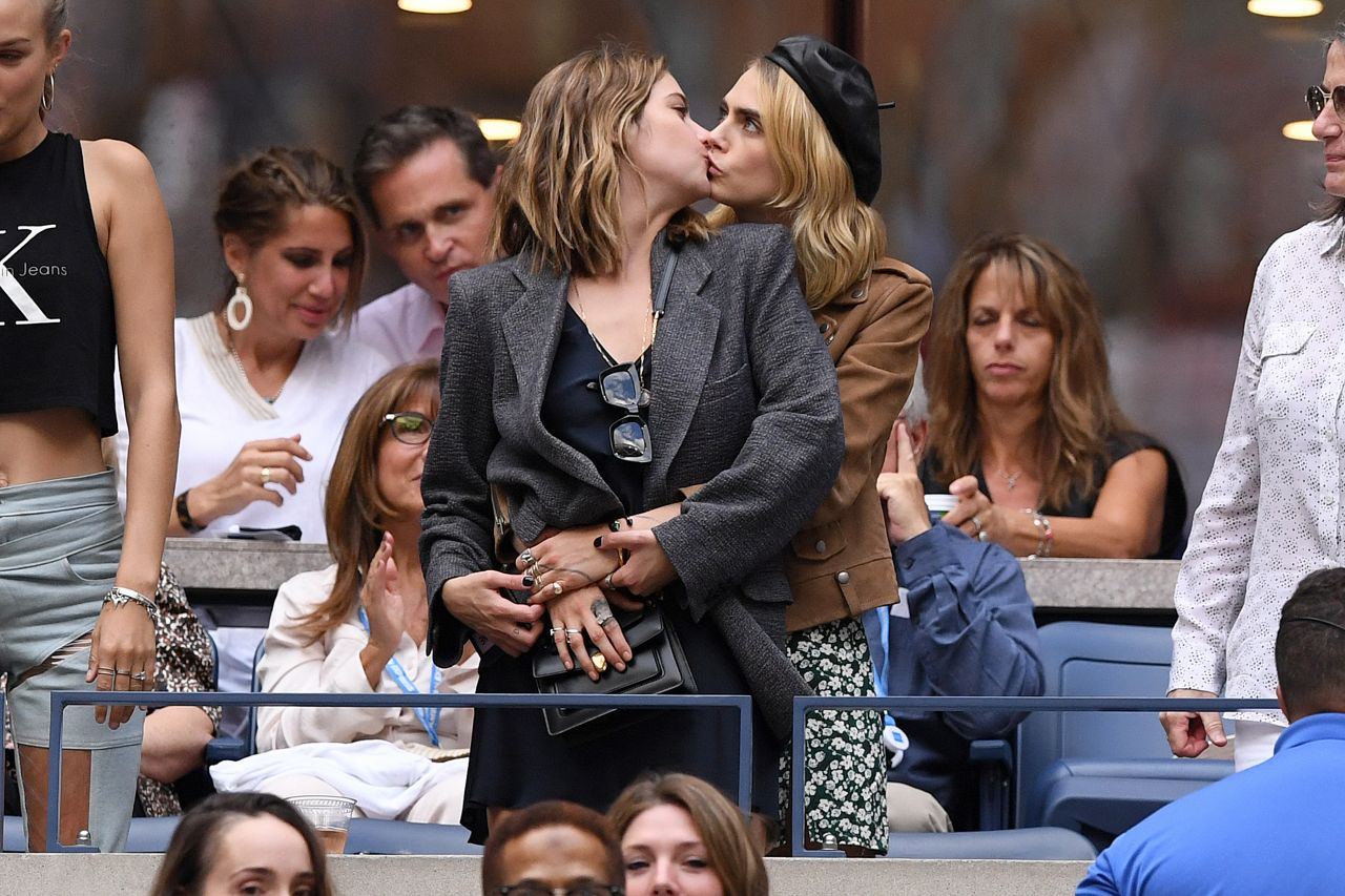 Ashley Benson And Cara Delevingne - Us Open Womens -2103