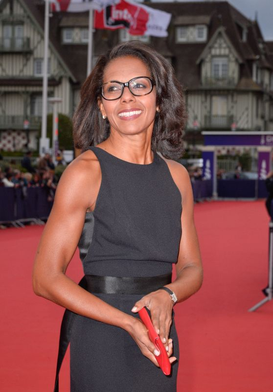 "Audrey Pulvar – ""Music Of My Life"" Premiere at the 45th Deauville American Film Festival"