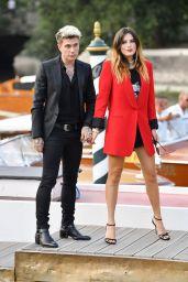 Bella Thorne and Benjamin Mascolo - Arriving at the 76th Venice Film Festival