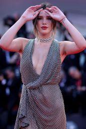 "Bella Thorne on Red Carpet – ""Joker"" Screening at the 76th Venice Film Festival"