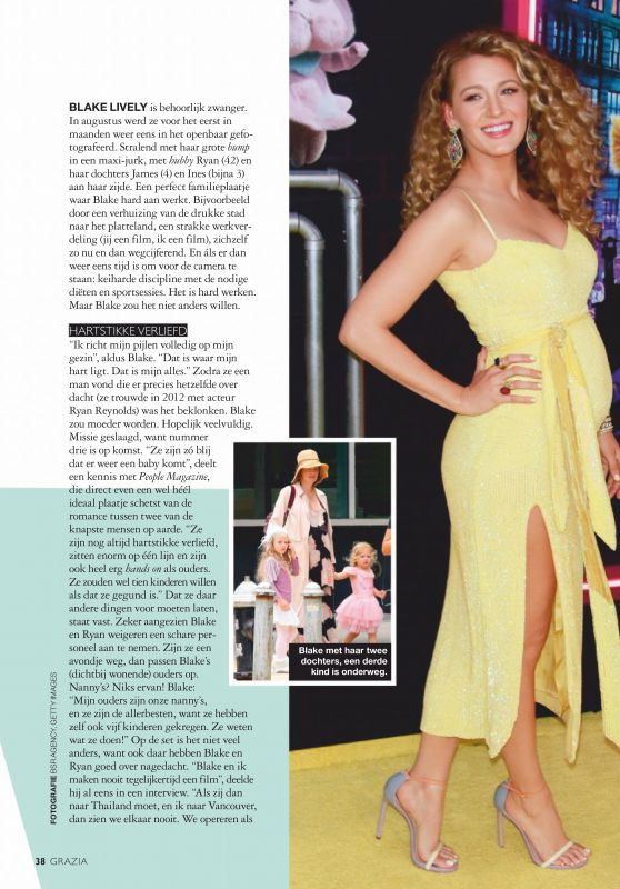 Blake Lively - Grazia Netherlands 08/27/2019 Issue