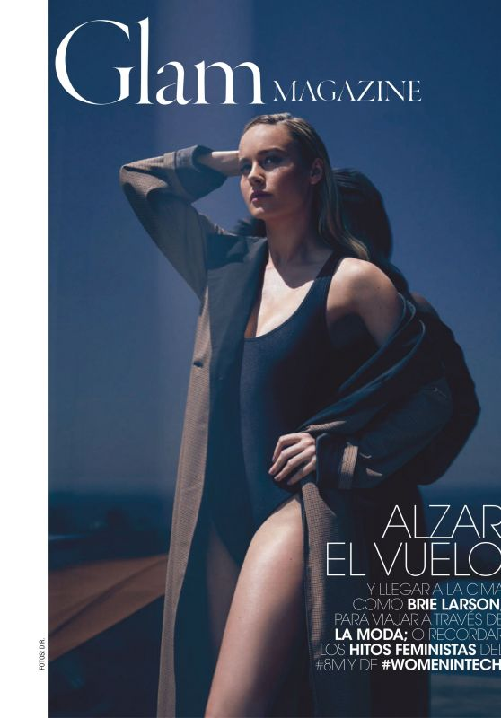 Brie Larson - Glam Magazine Spain March 2019 Issue