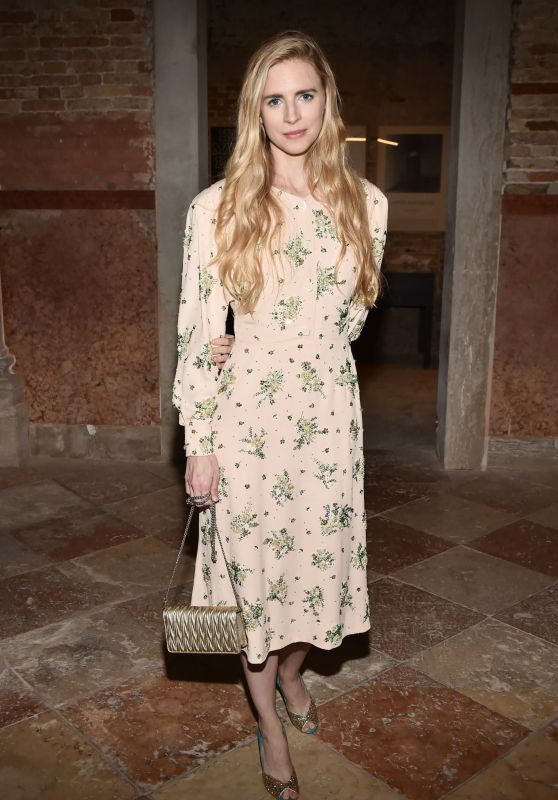 Brit Marling – Miu Miu Women's Tales Dinner at 76th Venice Film Festival