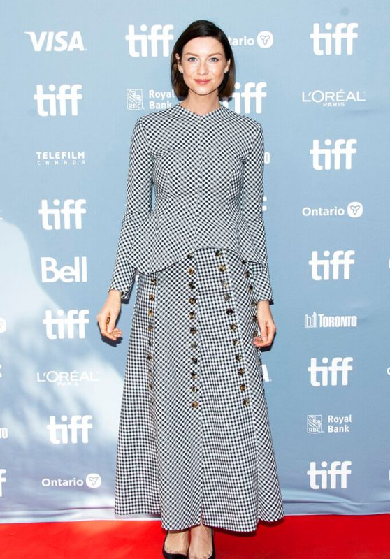 "Caitriona Balfe - ""Ford v Ferrari"" Press Conference at 2019 TIFF"