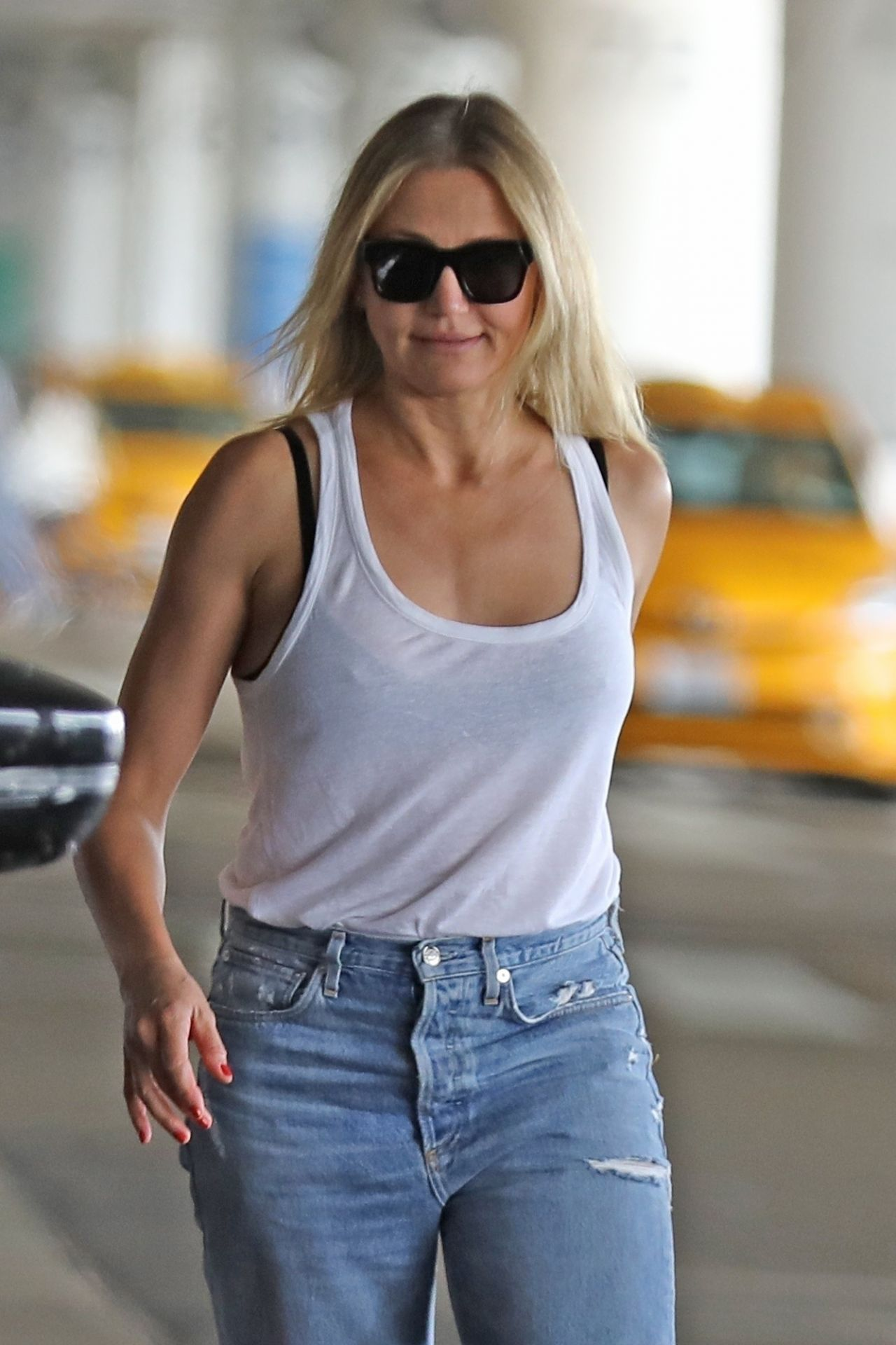 Cameron Diaz in Ripped Jeans - Out in Los Angeles 09/09/2019Cameron Diaz Net Worth 2019