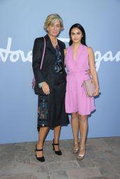 Camila Mendes – Salvatore Ferragamo Fashion Show in Milan 09/21/2019
