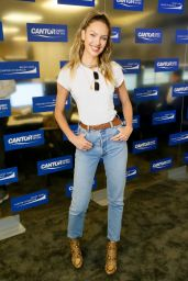 Candice Swanepoel - Cantor Fitzgerald Charity Day in New York 09/11/2019