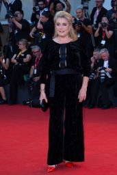 "Catherine Deneuve on Red Carpet – ""Joker"" Screening at the 76th Venice Film Festival"