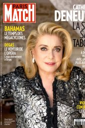 Catherine Deneuve - Paris Match 12-18 September 2019 Issue
