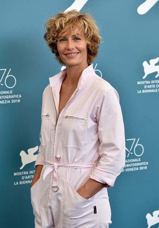 """Cecile De France - """"The New Pope"""" Photocall at the 76th Venice Film Festival"""