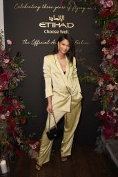 Chanel Iman - Etihad Airways Cocktail Party in NYC 09/10/2019