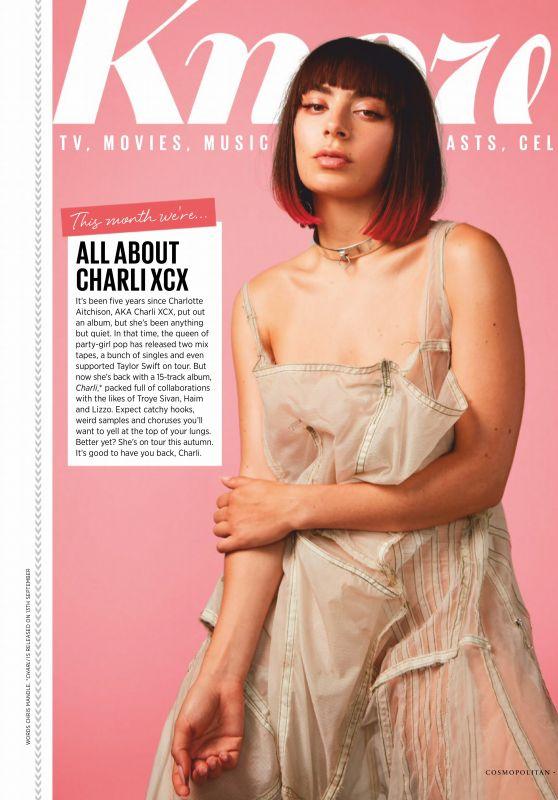 Charli XCX - Cosmopolitan UK October 2019