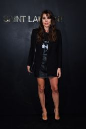 Charlotte Casiraghi – Saint Laurent Show at Paris Fashion Week 09/24/2019