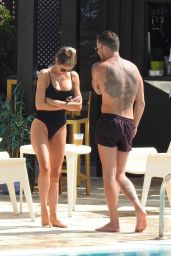 "Chloe Sims - Filming ""The Only Way Is Essex"" in Marbella 09/18/2019"