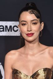 "Christian Serratos - ""The Walking Dead"" Season 10 Premiere in LA"
